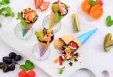Resep salad buah coklat